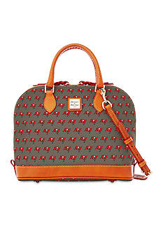 Dooney & Bourke Buccaneers Zip Zip Satchel Bag