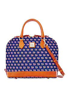 Dooney & Bourke Giants Zip Satchel Bag