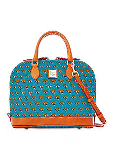 Dooney & Bourke Jaguars Zip Satchel Bag