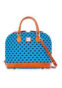 Panthers Zip Satchel Bag
