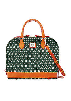 Dooney & Bourke Packers Zip Satchel