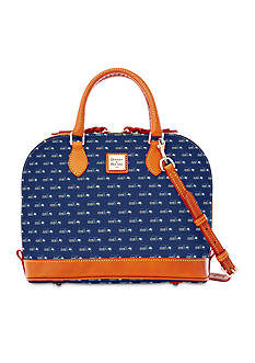 Dooney & Bourke Seahawks Zip Satchel