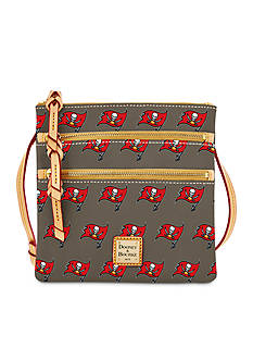 Dooney & Bourke Buccaneers Triple Zip Wristlet