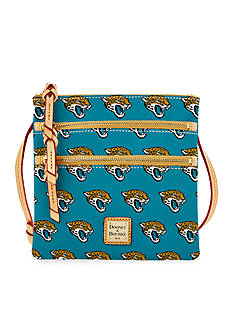 Dooney & Bourke Jaguars Triple Zip Crossbody