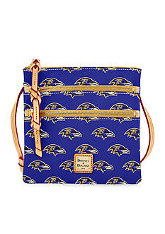Dooney & Bourke Ravens Triple Zip