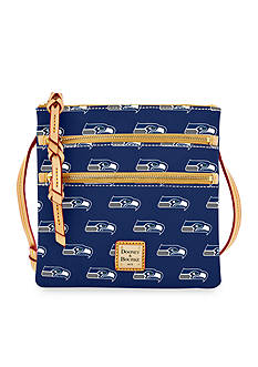 Dooney & Bourke Seahawks Triple Zip Crossbody