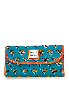 Dooney & Bourke Jaguars Continental Clutch