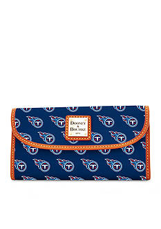 Dooney & Bourke Titans Continental Clutch