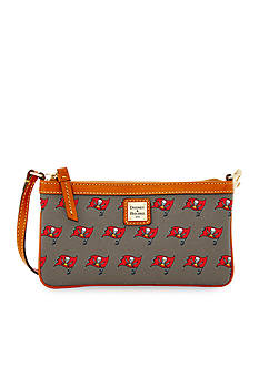 Dooney & Bourke Buccaneers Large Slim Wristlet