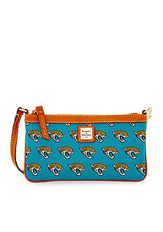 Dooney & Bourke Jaguars Large Slim Wristlet
