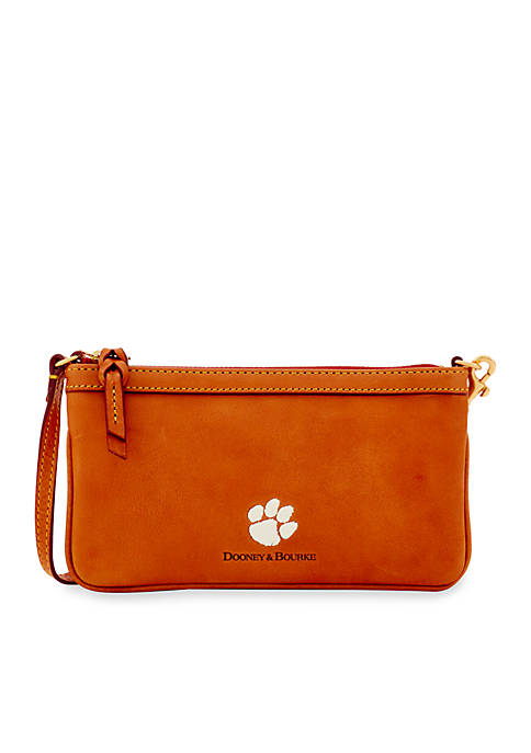 Dooney & Bourke Clemson Tigers Slim Wristlet
