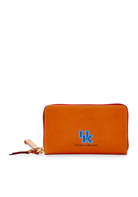 Dooney & Bourke Kentucky Wildcats Zip Around Wallet