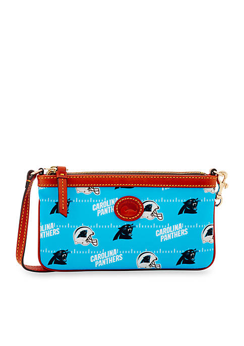 Dooney & Bourke Panthers Nylon Wristlet