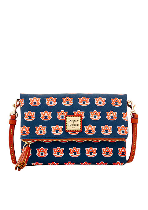 Dooney & Bourke Auburn Tigers Foldover Crossbody