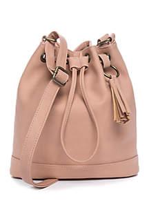 TRUE CRAFT Bucket Crossbody Bag