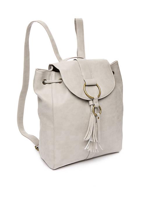 Josephine Ring Flap Backpack