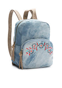Mini Dome Backpack With Embroidery