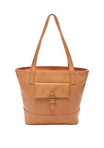 Buckle Pocket Tote