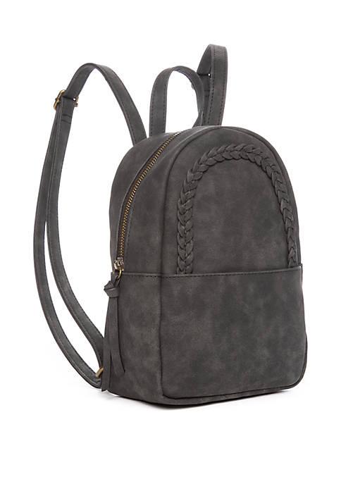 TRUE CRAFT Braided Mini Dome Backpack