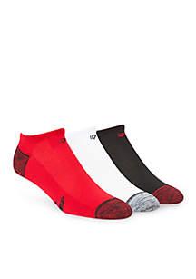 Falcons No Show Socks - 3-Pack