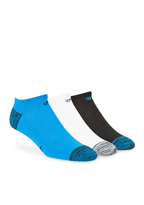 47 Brand Panthers No-Show Socks