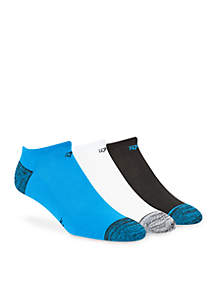 Panthers No-Show Socks - 3-Pack