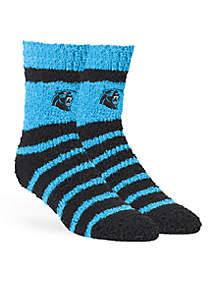 Carolina Panthers Cheshire Half Crew Socks