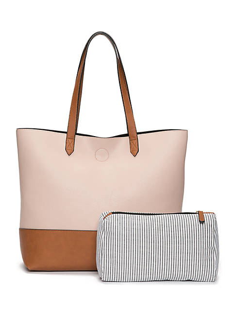 New Directions® Color Block Tote