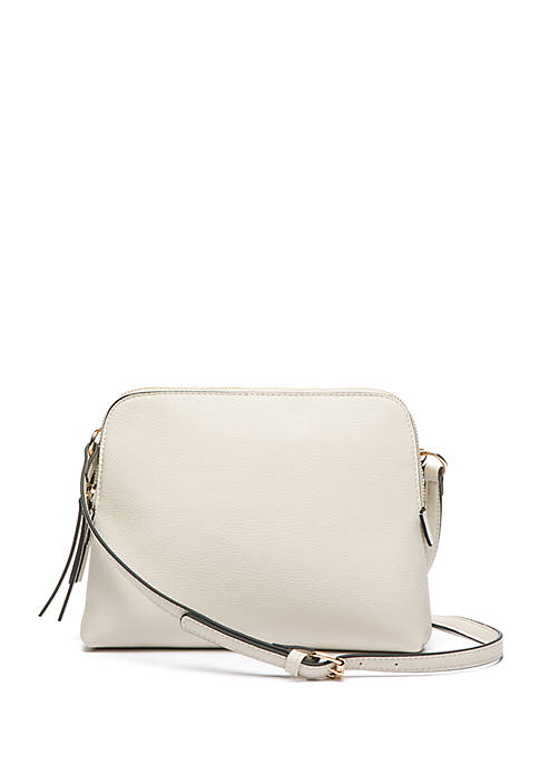 Rounded Double Entry Crossbody