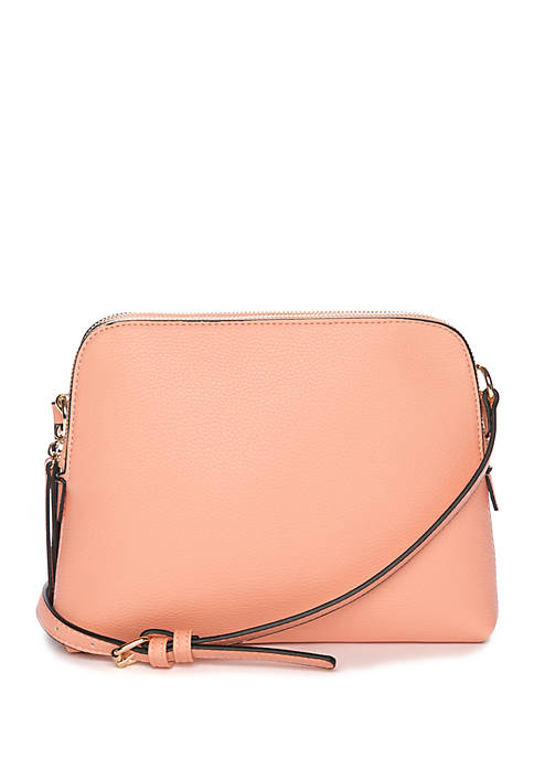 New Directions® Rounded Double Entry Crossbody