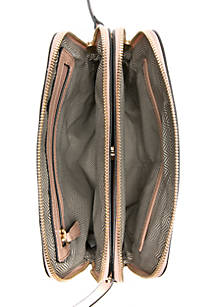 ... New Directions® Rounded Double Entry Crossbody ... 50398f9be5bb5