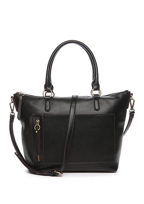 Smooth Tote with Pockets