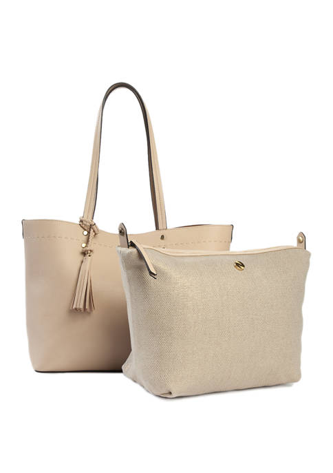 New Directions® Pebble Tote with Tassel