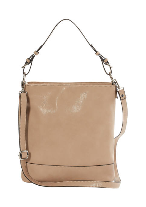 New Directions® Soft Faux Leather Convertible Crossbody