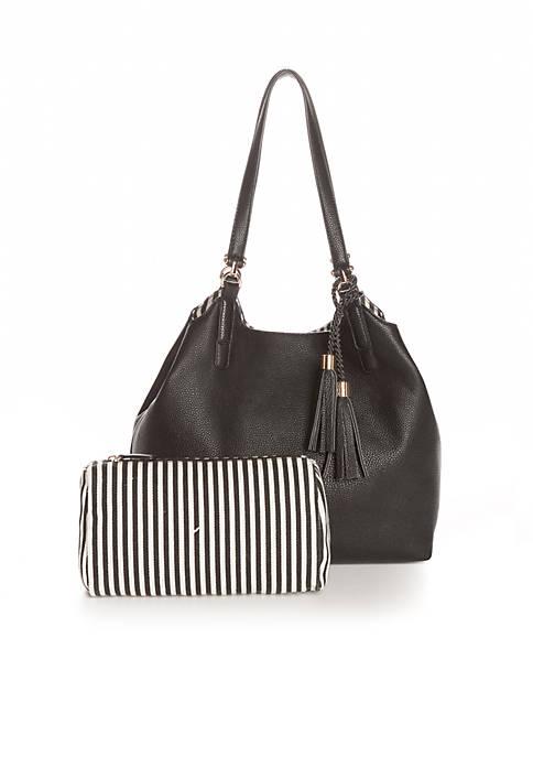 Shoulder Bag with Tassel