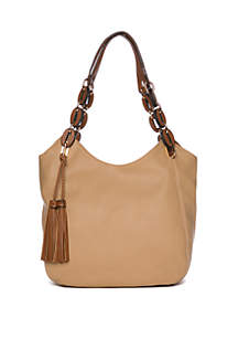 716463478 ... New Directions® Shoulder Bag With Tassel