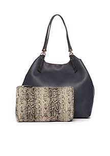 Key Item Shoulder Bag with Pocket