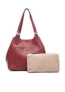 Key Item Shoulder Bag with Pouch