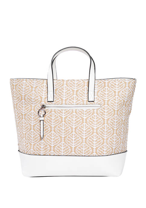 New Directions® Woven North South Small Tote