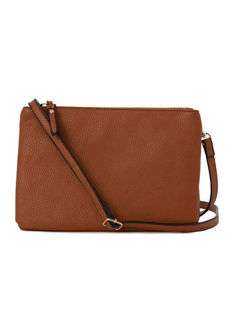 New Directions® Solid Crossbody Bag
