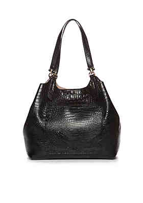 ... New Directions® Crocodile Key Item Shoulder Bag with Pouch 477e3055d5ceb