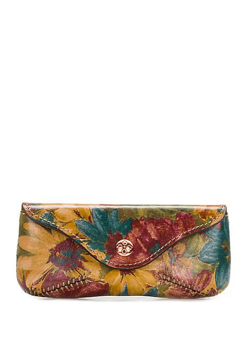 Patricia Nash Fresco Bouquet Ardenza Sunglass Case