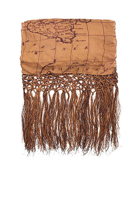 Patricia Nash Amelia Scarf with Tassel Edging