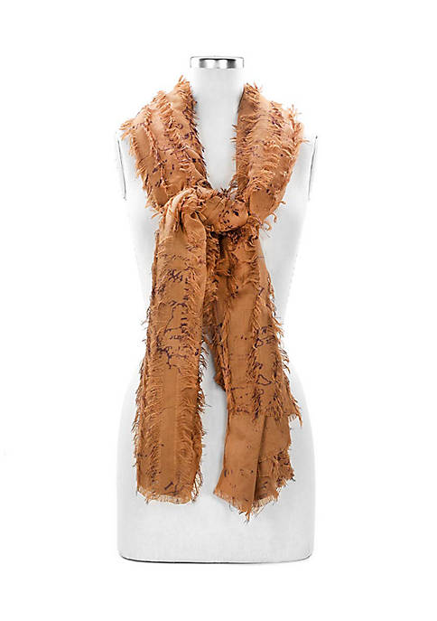 Patricia Nash Gisella Scarf with Frayed Detail