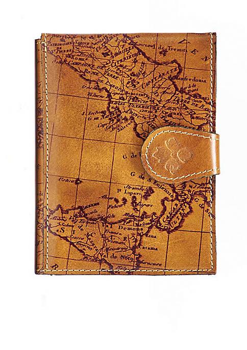 Patricia Nash Map Print Passport Case