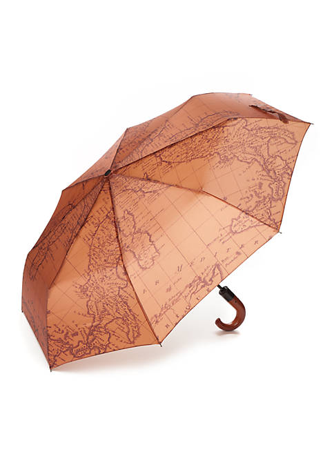 Patricia Nash Map Print Magliano Umbrella