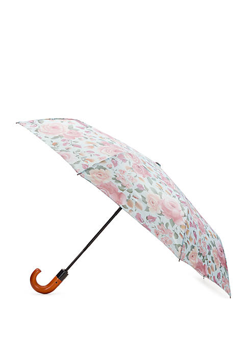 Patricia Nash Crackled Rose Magliano Umbrella