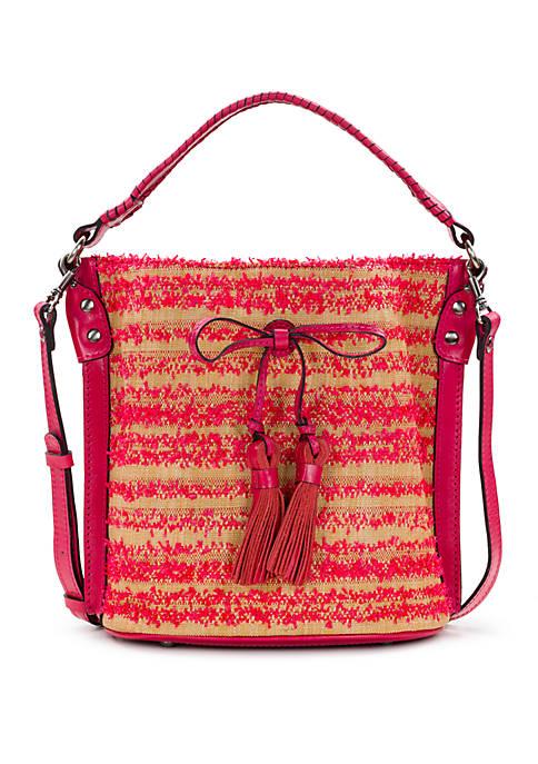 Patricia Nash Ebbe Straw Otavia Bucket Bag