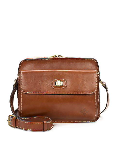 Patricia Nash Maxela Twist Lock Crossbody