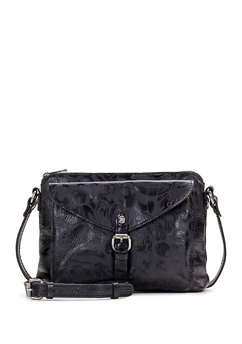 Laser Floral Avellino Crossbody Bag